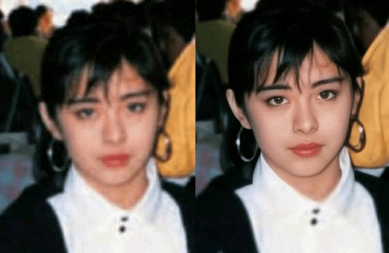 AI chỉnh sửa ảnh của các ngôi sao Hong Kong thập niên 90