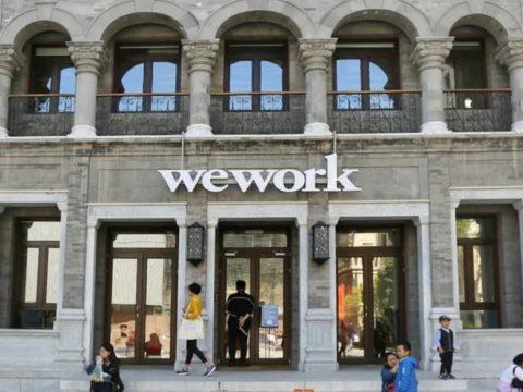Softbank đầu tư vào WeWork